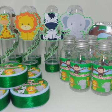 Kit Festa Infantil Personalizado Safari