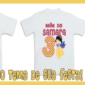 Camisetas Personalizadas Branca de Neve