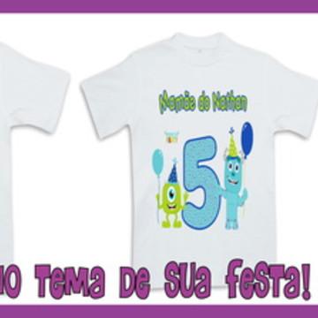 Camisetas Personalizadas Monstros S A