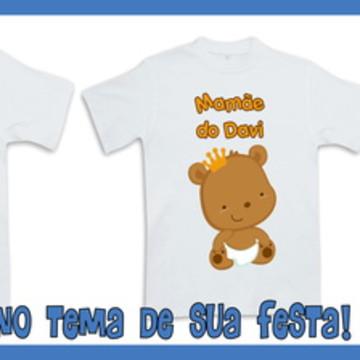 Camisetas Personalizadas Príncipe Urso