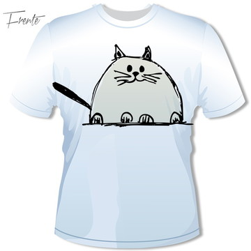 Camiseta Gato Fat 1