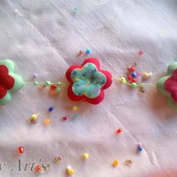 Móbiles flores