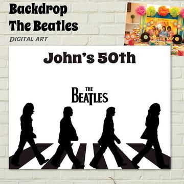 Painel IMPRESSO Rock Abbey Road