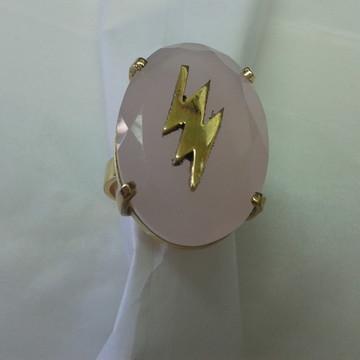 Anel Iansã Onira em prata banho de ouro