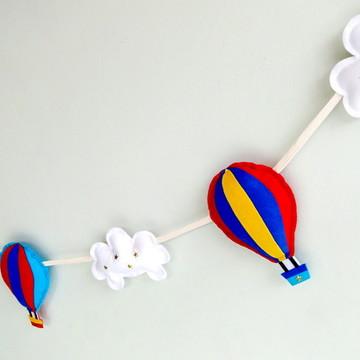 Cordão de Balões e Nuvens COLOR KIDS