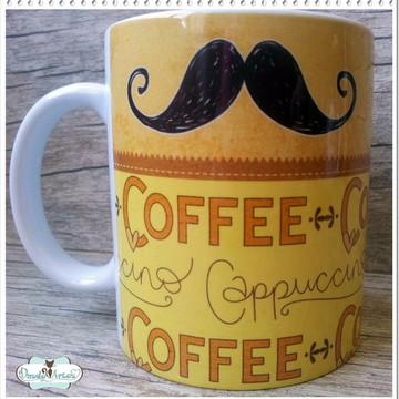 Caneca Café Bigode - Moustache
