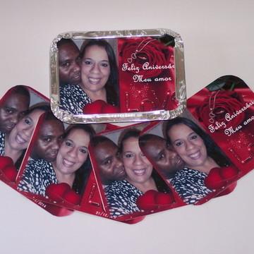 Marmitinhas Personalizadas Amor