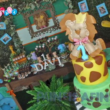 Safári & Selva - Decoração Rústica