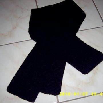cachecol masculino em crochê