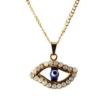 Colar eye opal