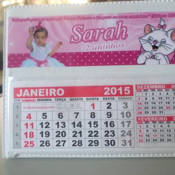 Calendario de mesa gata marie