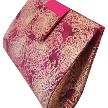 Bolsa Rose Em Cartonagem