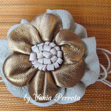 Flor de couro