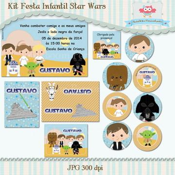 Kit Festa Infantil Star Wars (arte)