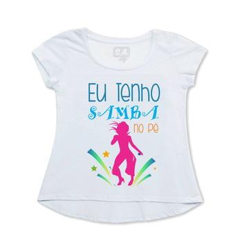 Bata ou Camiseta Divertida de Carnaval