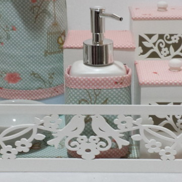 Kit Higiene Passaros com Gel