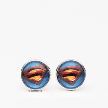 Abotoadura Personalizada - Super heróis