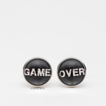 Abotoadura Personalizada - Game Over