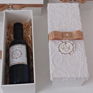 Caixa Para Mini Vinho/Mini Espumante