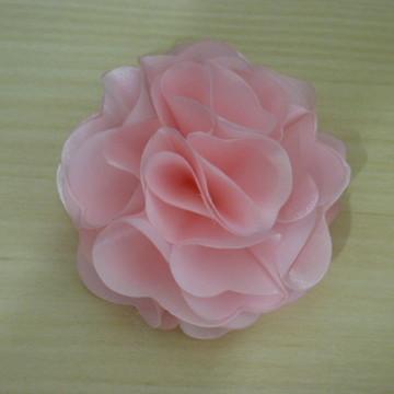 Flores Tecido Heloisa 7cm diâmetro