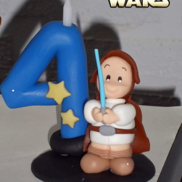 Vela personalizada Star Wars