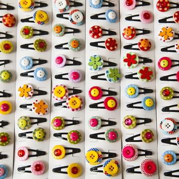 6 pares de mini tic-tacs sortidos