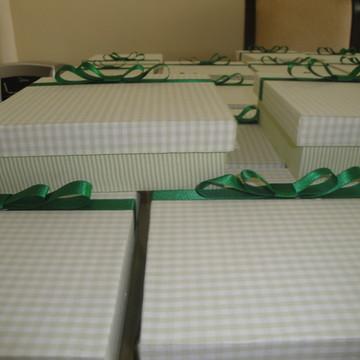 Caixinhas Forradas de tecido