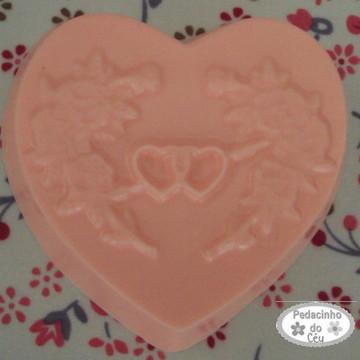 Sabonete Artesanal Coração