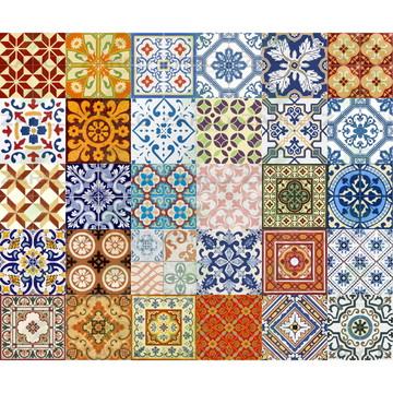 Adesivo Azulejo Português Ladrilho 15 cm