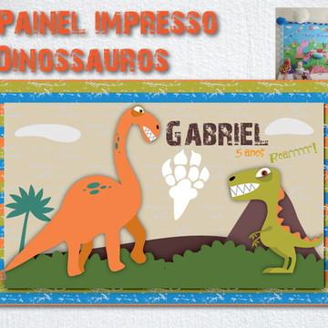 Painel Banner Impresso Dinossauro