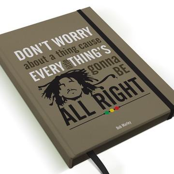 Caderno Bob Marley A5 Personalizado
