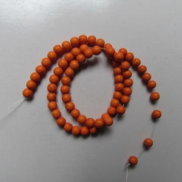 Turquesa laranja 6mm