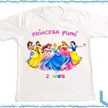 Camiseta Personalizada Princesa Disney 2