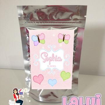 Candy Colors - Saquinho Metalizado