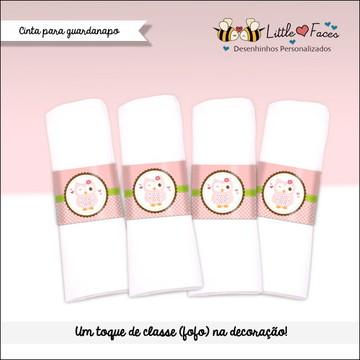 Bingo Chá de Bebê Corujinha p/ Imprimir