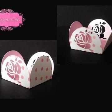 Forminhas para doces - rosa