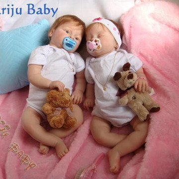 Bebês Reborn Gemeos Felipe e Manoela