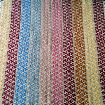 Tapete de Lã Pura Colorido