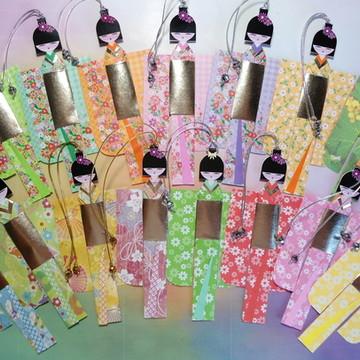 Marcador Boneca Japonesa Peq. 4