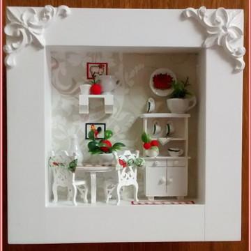 Quadro Decorativo COZINHA - Cooking