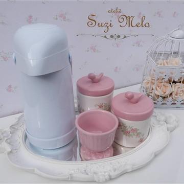 kit higiene Passaro bandeja oval