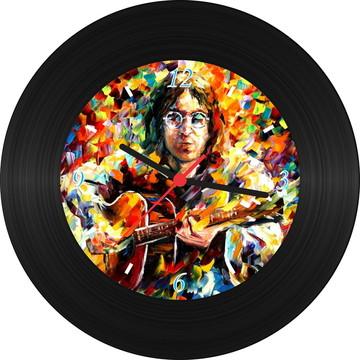 Relógio de Vinil - John Lennon (Pintura)