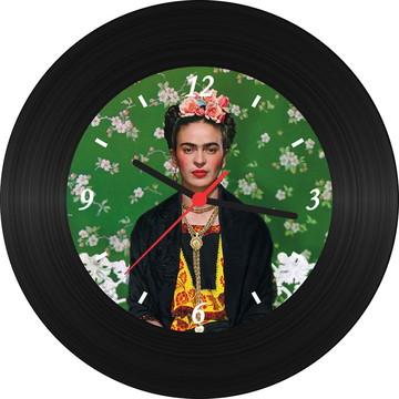 Relógio de Vinil - Frida Kahlo