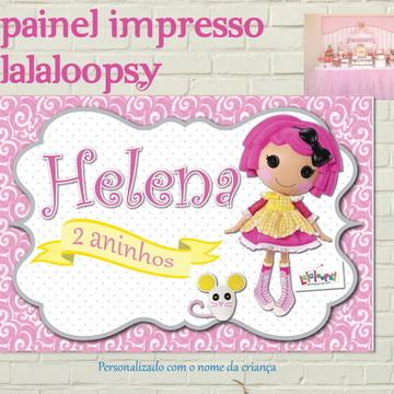 LALALOOPSY Painel IMPRESSO Lona Fosca