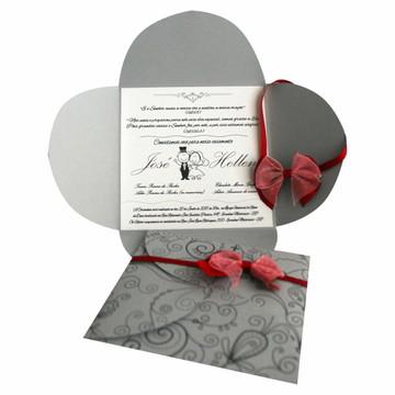 Convite Casamento Especial Trevo