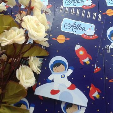 Bloquinho Aniversário Astronauta