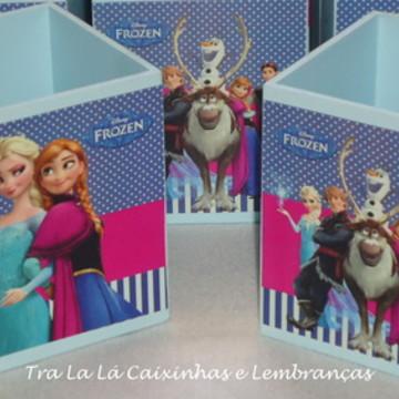 Porta Lápis Frozen