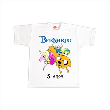 Camiseta de Aniversário Hora de Aventura