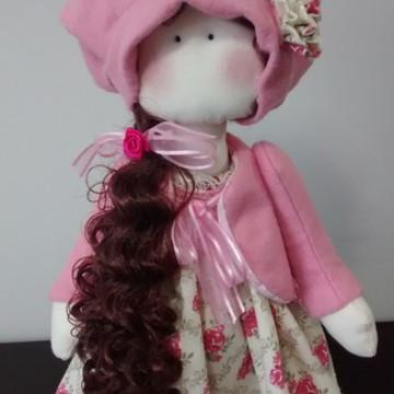 Boneca Russa ( boneca de pano)
