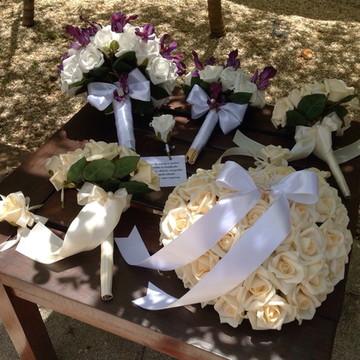 Kit Bouquet noiva & acessorios